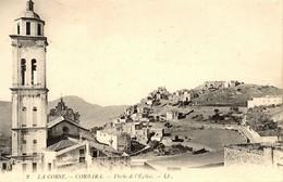 CORSE -- Jolie Vue Du Village De CORBARA (Balagne), Prise De La Flèche Du Couvent St-Dominique - Francia