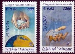 Vaticaanstad Mi 1372,1373 Europa Cept 2001  Postfris M.N.H. - Europa-CEPT
