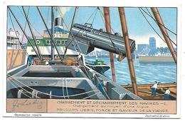 CHROMO -  Compagnie LIEBIG - Chargement Et Déchargement Des Navires - 1 - Liebig