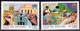 Vaticaanstad Mi 1546,1547 Europa Cept 2006 Postfris M.n.h. - 2006