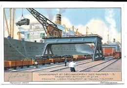CHROMO -  Compagnie LIEBIG - Chargement Et Déchargement Des Navires - 3 - Liebig