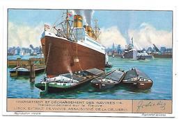 CHROMO -  Compagnie LIEBIG - Chargement Et Déchargement Des Navires - 4 - Liebig