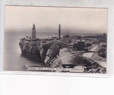 EUROPA POINT & AFRICAN CONTINENT IN BACKGROUND. ROCK PHOTO STUDIO. GIBRALTAR. CIRCA 1930's- BLEUP - Gibraltar