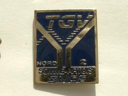 Pin's TGV - NORD 2 - SOMME ARTOIS - TGV