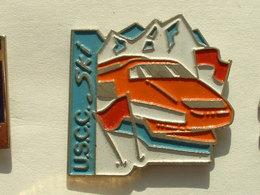 Pin's TGV - U.S.C.C. SKI - TGV