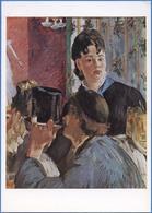 Edouard MANET (1832-1883) - La Serveuse De Bocks / In A Pub, Waitress With Beer-Glasses - Pittura & Quadri