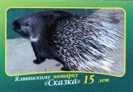 Zoo Skazka Yalta (UA / RU - Crimea) - Porcupine - Animals & Fauna