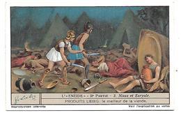 CHROMO -  Compagnie LIEBIG - L'Enéide - IIe Partie - 3 - Liebig