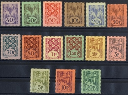 HUNGARY ROMANIA 1945 Local Stamps ORADEA NAGYVÁRAD   15 Stamps  VF - Emissions Locales