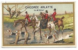 CHROMO - CHICOREE BLEU ARGENT - ARLATTE & Cie Cambrai - Le Passage Du Gué - Thé & Café
