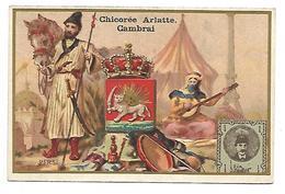 CHROMO - CHICOREE BLEU ARGENT - ARLATTE & Cie Cambrai - Perse - Thé & Café