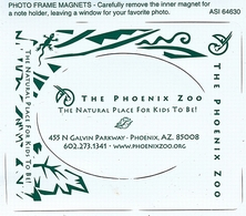Phoenix ZOO (US) - Logotype Etc. - Animals & Fauna
