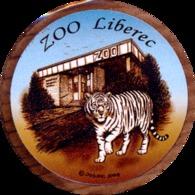 ZOO Liberec (CZ) - White Tiger - Animals & Fauna