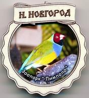 ZOO Limpopo Nizhniy Novgorod (RU) - Gouldian Finch - Animaux & Faune