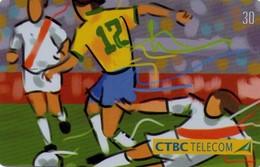 TARJETA TELEFONICA DE BRASIL (FUTBOL, CAMISA 12 - 06/16, 04/2002). (429) - Brazil