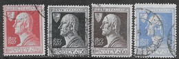 Italia Italy 1927 Regno Volta Sa N.210-213 Completa US - 1900-44 Vittorio Emanuele III