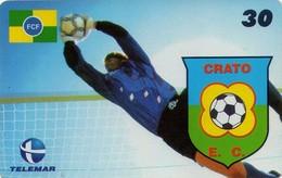 TARJETA TELEFONICA DE BRASIL (FUTBOL, CRATO ESPORTE CLUBE, 06/2000). TIRADA 30000 (439) - Brasil