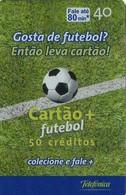 TARJETA TELEFONICA DE BRASIL (FUTBOL, CARTÁO + FUTEBOL, LANZAMIENTO, 10/2003). (447) - Brasil