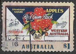 Australia 2016 Fruit Labels $1 Type 1 Self Adhesive Good/fine Used [38/31212/ND] - 2010-... Elizabeth II