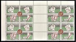 MONACO 1963  BLOC DE 4 X ( N° 628 A 631 ) NEUFS** COIN DE FEUILLE - Ongebruikt