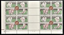 MONACO 1963  BLOC DE 4 X ( N° 628 A 631 ) NEUFS** COIN DE FEUILLE - Mónaco