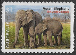 Australia 2016 Endangered Wildlife $1 Type 1 Self Adhesive Good/fine Used [36/30099/ND] - 2010-... Elizabeth II
