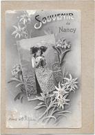 DEPT 54 - Souvenir De NANCY - Jeune Fille En Habit Traditionnel - ROUIL** - - Nancy