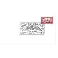 USA 2018. - US Air Mail. Red Cover Of The First Day. - Canada