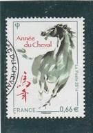 FRANCE 2014 ANNEE DU CHEVAL OBLITERE -  YT 4835 -                                  TDA24A - France