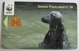 Seal - Joint - Zegel - Dichtung - Foca - Foca - Sello - Animal - Animaux - Fauna - Faune - WWF Panda Logo - Phonecards