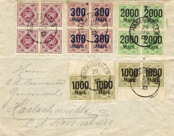 29-9-23 - Inflation Internal Open Cover  From HASSENWEILER - Allemagne