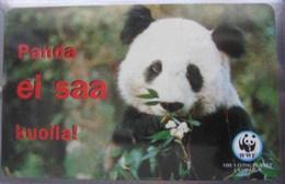 Giant Panda - Animal - Animaux - Fauna - Faune - WWF Panda Logo - Phonecards
