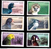 7660  Endangered Birds - Parrots - Ducks - 2018 - MNH - 2,75 - Vogels