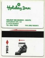 Deutschland / Germany Hotelkarte Keycard Vom Holiday Inn Munich - South In München - Hotel Keycards