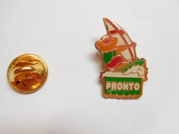 Beau Pin's , Sport , Planche à Voile , Pronto - Badges