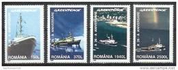 Mua059 TRANSPORT SCHIP SCHEPEN GREENPEACE SHIP SCHIFFE ROMANA ROEMENIË 1997 PF/MNH  VANAF1EURO - Boten