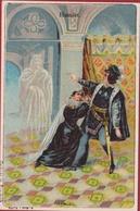 Hamlet Cichorei Talpe Roeselare Oude Old Chromo Litho Lithographie William Shakespeare - Thé & Café