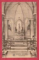 Aulnois - La Chapelle N Dame Du Sacré-Coeur - Vue Intérieure  - 1924 ( Voir Verso ) - Quévy