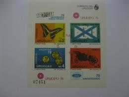 Uruguay 1978 World Cup Football MICHEL No.BL40 Imperf - Coppa Del Mondo