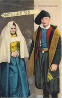Sardegna Cagliari Sassari Nuoro Iglesias Carbonia Quartu Sant'elena Costumi Sardi Sposi Nel Costume Antico - Costumi