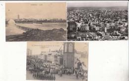 Maroc - Casablanca -  3  Cartes    - Achat Immédiate - Casablanca