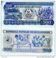 MOZAMBIQUE 500 Meticais P-131b  16.6.1986  **UNC** - Mozambique