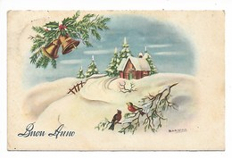 Buon Anno - Piccolo Formato - Viaggiata - Anno Nuovo