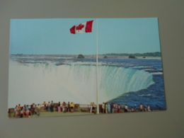CANADA HORSESHOE FALLS AS SEEN FROM TABLE ROCK HOUSE NIAGARA FALLS - Chutes Du Niagara