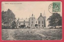 Rebecq - Château De La Grande-Haie - 1913 ( Voir Verso ) - Rebecq