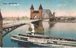 Allemagne - Rhénanie-du-Nord-Westphalie - Bonn - Rheinbrücke - Bonn
