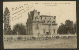 Angers-Le Château De La Manufacture De Cordages Et Tissage Du Mail - Angers