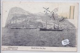 GIBRALTAR- ROCK FROM THE BAY - Gibraltar