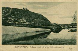 1919  Kevevara - A Kevevarai Varhegy Delkeleti Oldala   HUNGRIA    Serbien Serbia Srbija - Hungría