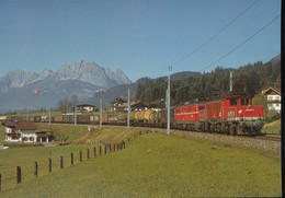 Elektro -  Lokomotiven 1020 014-5 +1110 505-5 - Trenes